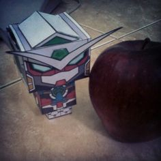 Gundam? Apple? :D
