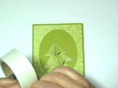 origami christmas card tutorial