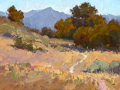 Oak Trail by Jim Wodark Oil ~ 12 x 16