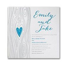 Love Fulfilled - Invitation #weddinginvitations