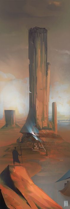 Desert-Haven by ArtofTy   Environment design
