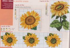 sunflower stitchery <3