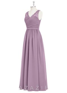 Shop Azazie Bridesmaid Dress - Beverly in Chiffon. Find the perfect made-to-order bridesmaid dresses for your bridal party in your favorite color, style and fabric at Azazie.