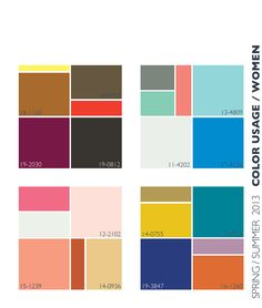 #colourtrends #ss2013