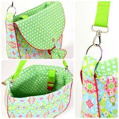 Schnittmuster Ebook Handtasche Kindergartentasche Kinderhandtasche mit Schnalle