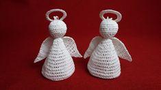 Jak zrobić anioła 3D szydełkiem - Wzór 2
