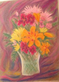 Vase of flowers - Terri Dickson