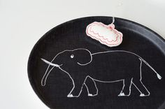 fog linen trays and calendars 2013 - Bloesem Fog Linen, Elephants, Trays, Html, Chalkboard, Nest, Decorative Plates, Beaded Necklace, Craft Ideas