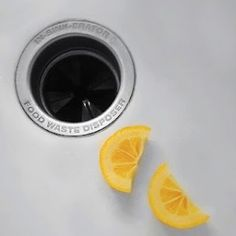 Control bad odors in your garbage disposal by tossing some orange or lemon slices in the disposal and grinding them. The oil & juices from the citrus peels & fruit will freshen the smell.     You can also freeze vinegar in cubes & then crush in the disposal to keep the blades sharp and safely kill bacteria.