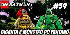 LEGO Batman3 │#59│ GIGANTA E MONSTRO DO PANTANO (DUBLADO)HD-1080P