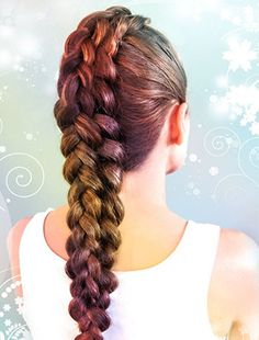 Easy braided hair looks. Easy hairstyles with braids. African braiding hair and styles. African Braids Hairstyles, Unique Hairstyles, Pretty Hairstyles, Black Hairstyles, Girls Braided Hairstyles, French Hairstyles, Dance Hairstyles, Hairstyles Pictures, Hairstyles 2018