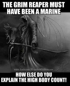 Marines Marine Corps Humor, Us Marine Corps, Once A Marine, Marine Mom, Military Jokes, Military Life, Marines Funny, Usmc Quotes, Animal Quotes