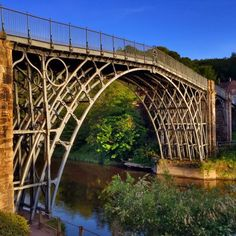 https://flic.kr/p/t46cnW | The iron bridge at Iron Bridge :) #upsticksandgo #tourist #travel #ironbridge #unitedkingdom #history #michfrost #englishheritage