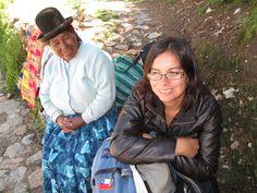 Con mi hermana perdida en la Isla del Sol. Raja.