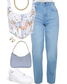 Teen Fashion Outfits, Look Fashion, Outfits For Teens, Korean Fashion, Girl Outfits, Summer Outfits, Cute Casual Outfits, Retro Outfits, Stylish Outfits