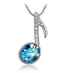 Necklace. #musicstyle #musicfashion http://www.pinterest.com/TheHitman14/hey-ladies-musical-fashion/