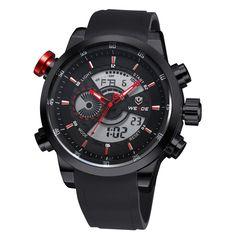 WEIDE+WH3401B-2C+431988+Men's+Sport+Calendar+Casual+Wrist+Watch