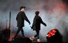 Jin and Suga ❤ 2016 Busan One Asia Festival #BTS #방탄소년단