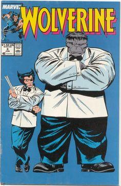 # 8 Drawing by John Buscema 1988 Marvel Comics