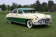 1952 Hudson Hornet, Yellow, for sale in Auburn, New York, for $48,500. http://www.classiccar.com/hudson/hornet/1952-hudson-hornet_47982/?back=hudson%2F