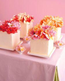 deconstructed wedding cake
