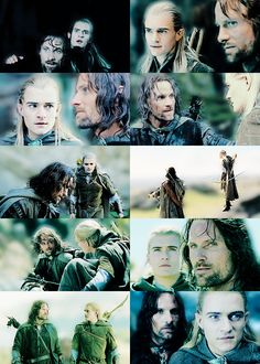 Legolas And Aragorn, Slash Fiction, Aragon, Orlando Bloom, Drarry, Middle Earth, Lord Of The Rings, Tolkien, Lotr