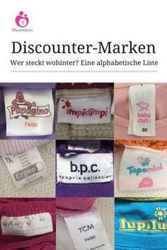 Wer stellt welche Marke her? Eine Übersicht über Eigen- und Discountermarken, damit ihr bei Second Hand-Kleidung echte Schnäppchen von Discounterware unterscheiden könnt. #secondhand #marken #liste