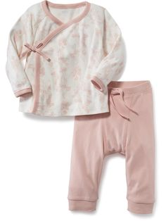 2-Piece Printed Tee and Pants Set Product Image