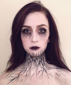 """This Is As Pretty As """"Scary"""" Halloween Makeup Gets #refinery29"""