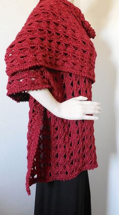 Lattice Dress Shawl For Spring Summer – Robin Harley offers FREE SHIPPING in the U.S. and Canada