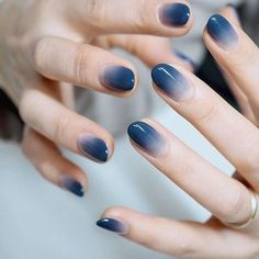 99 Admiring Nail Art Designs Ideas To Try In 2019 How to utilize nail polish? Nail polish on your friend's nails looks perfect, nevertheless you can't appl Gradient Nails, Holographic Nails, Gel Nails, Acrylic Nails, Nail Polish, Stiletto Nails, Coffin Nails, Galaxy Nails, Nail Nail