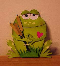 Card: frog