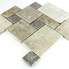 Cm X Cm Klein Muster Glas Mosaik Fliesen Schwarz Und Silber Mit - Fliesenverband muster