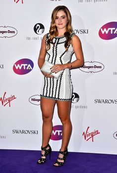 Laura Robson and CiCi Bellis dazzle on the purple carpet as tennis stars attend the WTA Pre-Wimbledon Party Purple Carpet, Wimbledon Tennis, Beautiful Athletes, Tennis Players Female, Tennis Stars, Stunning Women, Nice Legs, Female Athletes, Elegant Woman