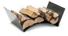 Ekskluzywna taca na drewno Wood Bridge to minimalistyczny a zarazem w pełni funkcjonalny projekt Frieda Ulbera.