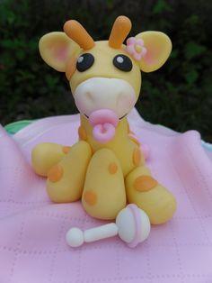 Image detail for -listing fondant giraffe cake topper favoriters cachedcustom listing ...