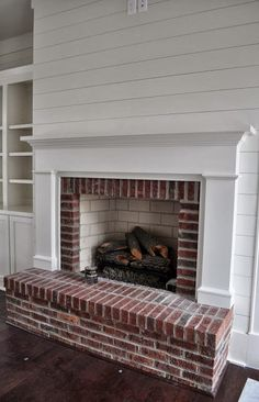 Fireplace surround-perfect, but with different brick