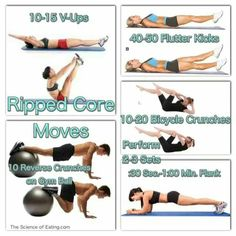 Ripped Core Moves