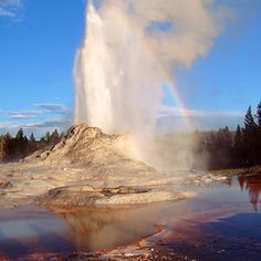 Top wow spots of Yellowstone | Castle Geyser | Sunset.com