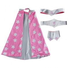 Girls Superhero Set