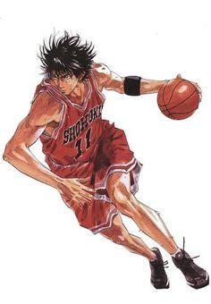 Slam Dunk Manga, Manga Art, Manga Anime, Inoue Takehiko, Basketball Drawings, Manga Covers, Kuroko, Slammed, Pose Reference