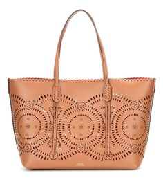mytheresa.com - Perforated leather shopper - Luxury Fashion for Women / Designer clothing, shoes, bags