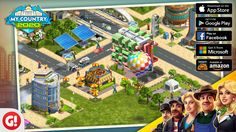 Check out my city in 2020: My Country! Play now and build a city of your dreams! #MyCountry2020