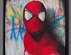 """Check out new work on my @Behance portfolio: """"Spiderman art canvas painting Dave Baranes"""" http://be.net/gallery/44654697/Spiderman-art-canvas-painting-Dave-Baranes"""