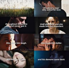 Do you wanna hear a story? Insurgent, Allegiant, Divergent Series, Veronica Roth, Losing Her, Things To Know, Your Story, Vampire Diaries, Book Series