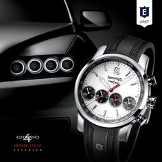 Chrono 4 Grande Taille by Eberhard & Co. Patented-Registered Design