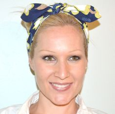Womens Headband Head Wrap Rockabilly Clothing by thehatcottage, $15.00
