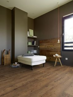 Creation 55 Luxury vinyl tile and plank flooring is available in wood, mineral, and urban effect that can enhance any interior flooring décor. Luxury Vinyl Tile, Luxury Vinyl Plank, Plank Flooring, Vinyl Flooring, Flooring Ideas, Sol Pvc, Commercial Flooring, Wet Rooms, Decoration