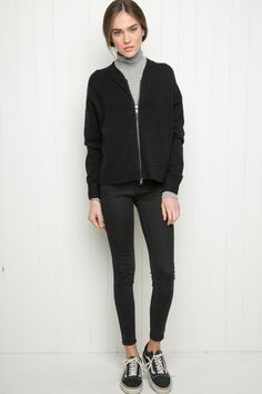 Brandy ♥ Melville | Jil Bomber Jacket - Just In