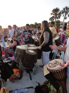 Siesta Key Drum Circle (every Sunday)